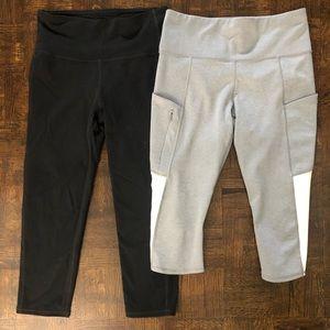 Athleta size S crop leggings
